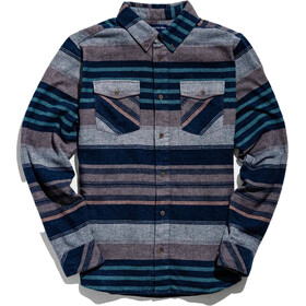 United By Blue The Responsible Flannel Top Heren, brownstone